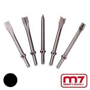 Mighty-Seven 5 beitels met Ø10,2mm ronde beitelaansluiting