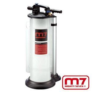 Mighy-Seven Vloeistofzuiger manueel & pneumatisch 9ltr