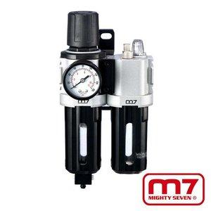 Mighy-Seven Filter, drukregelaar & olienevelaar 1/4''