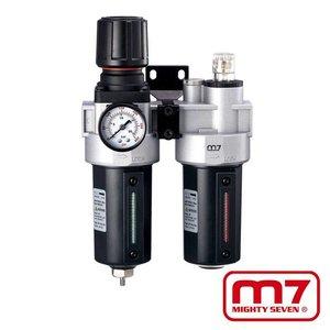 Mighy-Seven Filter, drukregelaar & olienevelaar 1/2''