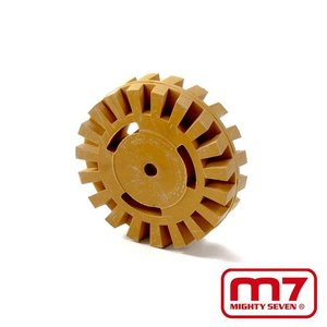 Mighy-Seven Rubber borstel t.b.v. QB802 borstelmachine