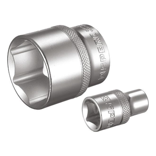 6-kant doppen SAE (inch)