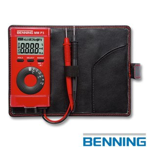 Benning MM P3 digitale multimeter in zakformaat