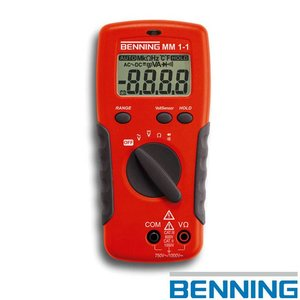 Benning MM 1-1 digitale multimeter
