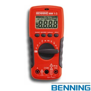 Benning MM 1-3 digitale multimeter