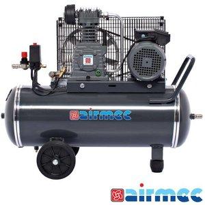 Airmec Zuigercompressor, 350L/min, 50L tank, 230V
