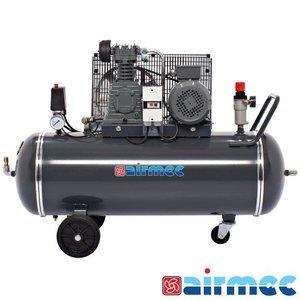 Airmec Zuigercompressor, 375L/min, 100L tank, 400V