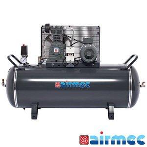 Airmec Zuigercompressor, 600L/min, 200L tank, 400V