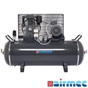 Airmec Zuigercompressor 15 BAR, 700L/min, 300L tank, 400V