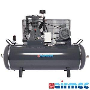 Airmec Zuigercompressor, 1300L/min, 500L tank, 400V