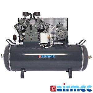 Airmec Zuigercompressor, 1900L/min, 500L tank, 400V