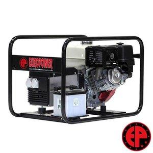 Europower EP6000E aggregaat / generator 6,0 kVA benzine met elektrische start