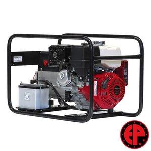 Europower EP6500TE aggregaat / generator 7,0 kVA benzine elektrische start