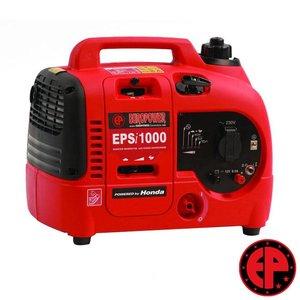 Europower EPSi1000 geluidsgedempte aggregaat / generator 1,0 kVA benzine