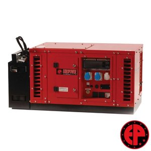 Europower EPS6000E geluidsgedempte aggregaat / generator 6,0 kVA benzine