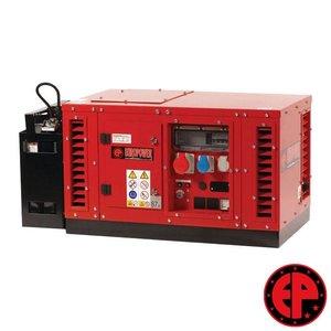 Europower EPS6500TE geluidsgedempte aggregaat / generator 7,0 kVA benzine