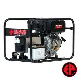 Europower EP6000DE aggregaat / generator 5,5 kVA diesel elektrische start