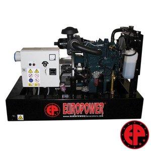 Europower EP73DE aggregaat / generator 7,0 kVA diesel