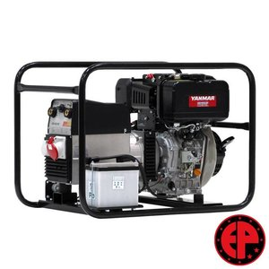 Europower EP180DXE lasaggregaat / generator 6,0 kVA diesel elektrische start