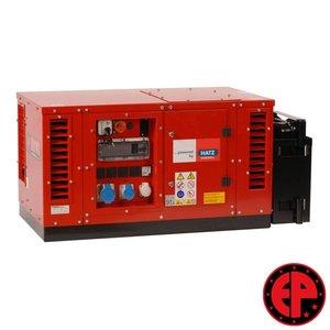 Europower EPS6000DE geluids gedempte aggregaat / generator 5,5 kVA diesel