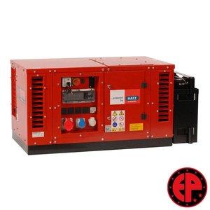 Europower EPS7000TDE geluids gedempte aggregaat / generator 7,0 kVA diesel