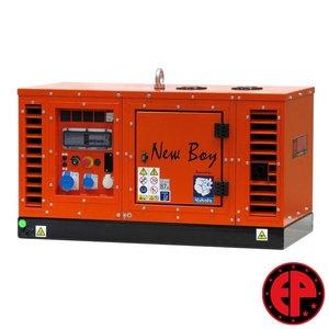 Europower EPS73DE geluidsgedempte aggregaat / generator 7,0 kVA diesel