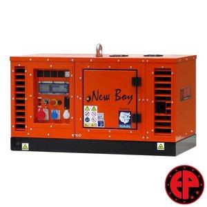 Europower EPS83TDE geluidsgedempte aggregaat / generator 8,0 kVA diesel
