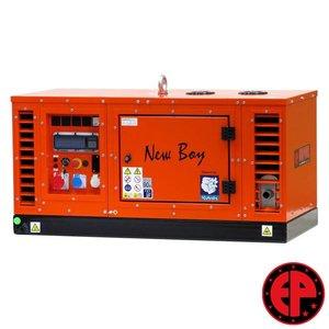 Europower EPS113TDE geluidsgedempte aggregaat / generator 11,0 kVA diesel