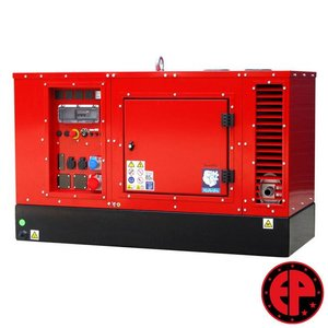 Europower EPS183TDE geluidsgedempte aggregaat / generator 18,0 kVA diesel
