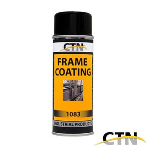 CTN Frame Coating Ral 9011 zwart 400ml