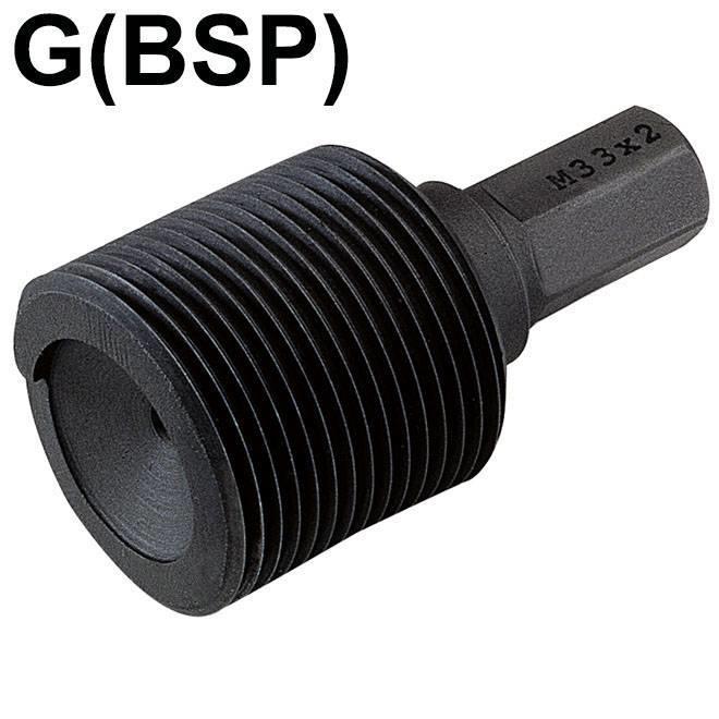 Inbouwhulpstukken met 6-kant aansluiting - G (BSP)