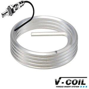 V-coil Schroefdraadinserts Mf 18 x 1.5, INCONEL X750, voor lambdasonde Lengte: R 9mm, 10st