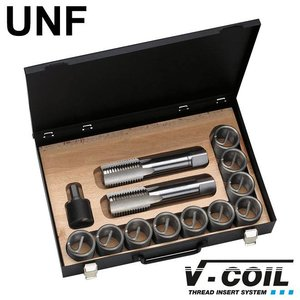 V-coil Draadreparatieset UNF 1.1/8'' x 12