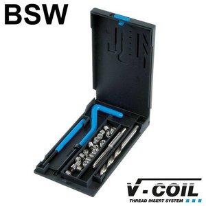 V-coil Draadreparatieset BSW 1/4 x 20
