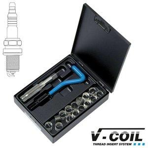 V-coil Draadreparatieset M 10 x 1.5 voor bougie schroefdraad