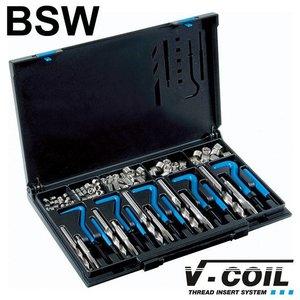 V-coil Draadreparatieset BSW 1/4 - 1/2''