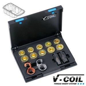V-coil Draadreparatieset voor carterpluggen Mf 20; Mf 24 x 1.5