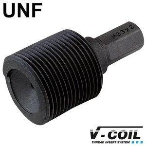 V-coil Inbouwhulpstuk met zeskant-aansluiting UNF 1.1/2 x 12