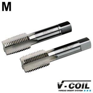 V-coil STI-tapset, 2-dlg, HSS-G, M 42 x 4.5