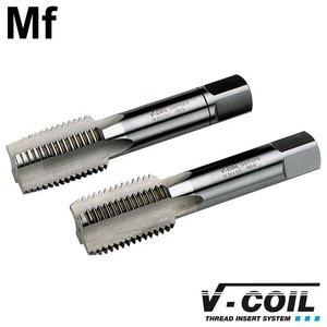 V-coil STI-tapset, 2-dlg, HSS-G, Mf 45 x 3.0