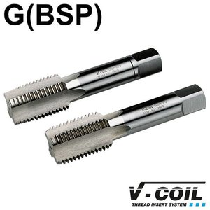 V-coil STI-tapset, 2-dlg, HSS-G, G 1'' x 11