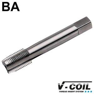 V-coil STI-Korte machinetap, HSS-G, vorm D, BA 6