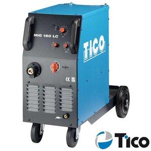 Tico MIG/MAG lasapparaat MIG 160 LC 2-rollen aandrijving