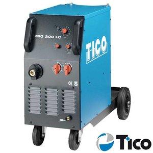 Tico MIG/MAG lasapparaat MIG 200 LC 2-rollen aandrijving