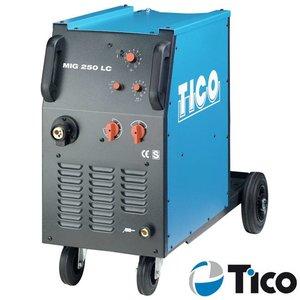 Tico MIG/MAG lasapparaat MIG 250 LC 2-rollen aandrijving