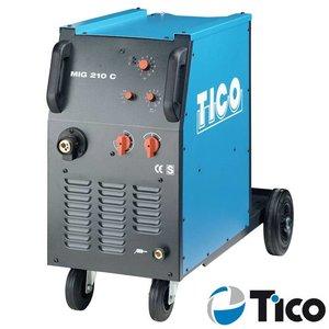 Tico MIG/MAG lasapparaat MIG 210 C 4-rollen aandrijving