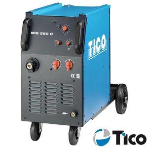 Tico MIG/MAG lasapparaat MIG 260 C 4-rollen aandrijving