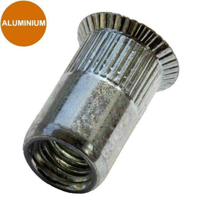 Verzonken - aluminium