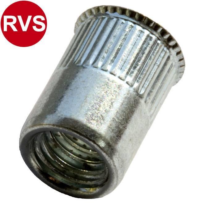 Gereduceerd verzonken - RVS A2