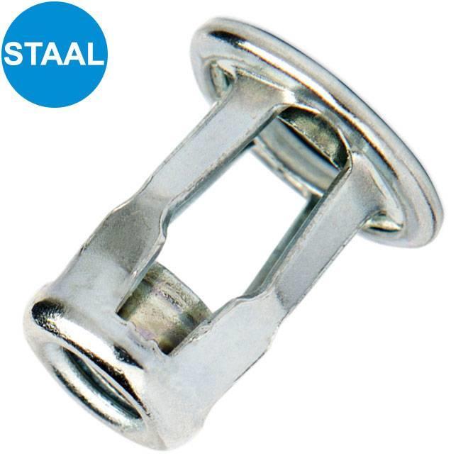 Spreidmoeren type 2 - Cilindrisch - Staal